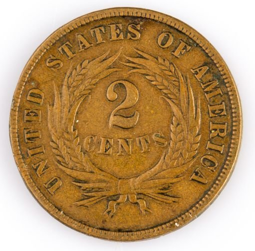 1865 LARGE CENT US COIN