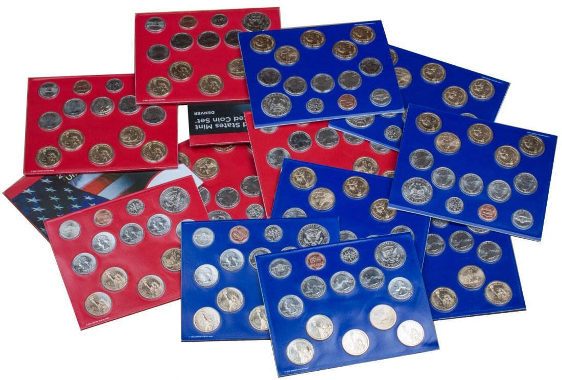 (14) 2013 US MINT UNCIRCULATED COIN SETS