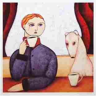 PAINE PROFFITT (American, b.1972), 'Double Espresso',
