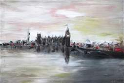 NIGEL KINGSTON, 'Another view of London', by Nigel