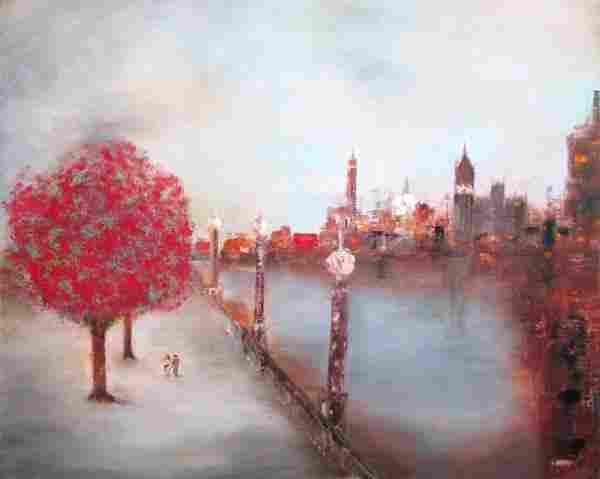 NIGEL KINGSTON (contemporary), 'Approaching