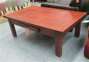LOW TABLE, French style with a frieze drawer, 140cm x