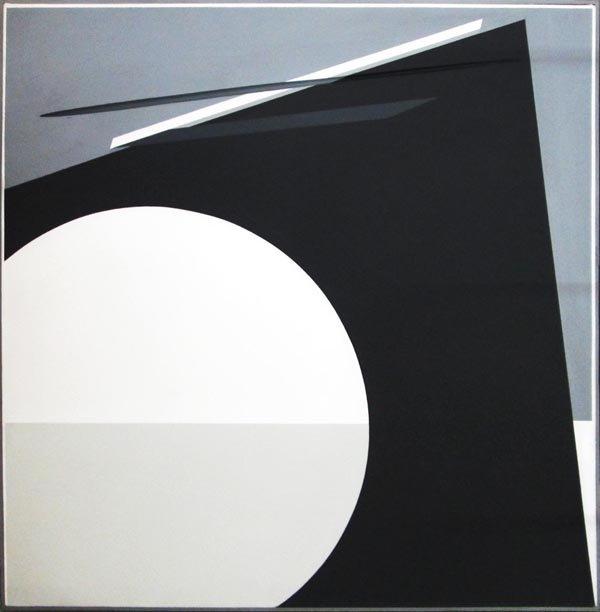 JULES DE GOEDE (Dutch, 1937-2007), 'Bridged form', oil