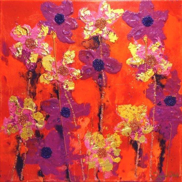 SUZANNE CROOK (Contemporary), 'The Summer Dances II',
