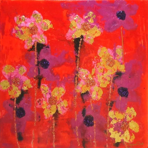 SUZANNE CROOK (Contemporary), 'The Summer Dances I',