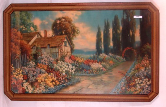1: R Atkinson Fox - An Old Fashioned Garden