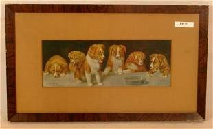 R Atkinson Fox - Too Late - Puppies