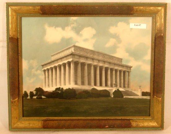 7: Buckingham - US Capital Building - Hand-Colored