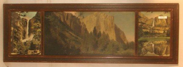 20: Photographer Unknown - Yosemite Triptych