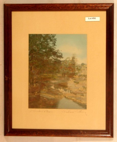 501: Wallace Nutting - A Broken Stream