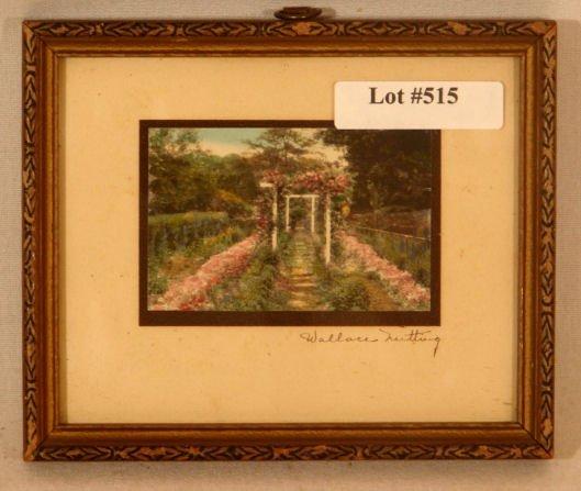 515: Wallace Nutting - Miniature Garden Scene