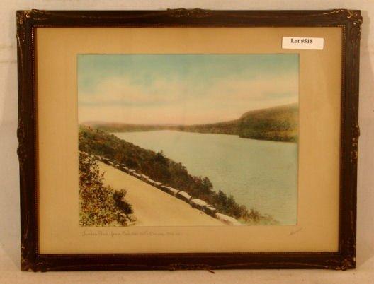 518: Harris - Jordon Pond from Cadillac Mt Dr, Maine
