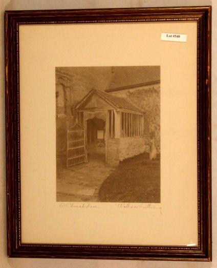 540: Wallace Nutting - A Church Door