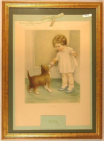 15: Bessie Pease Gutmann - 1940 Calendar