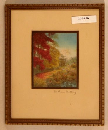 16: Wallace Nutting - Untitled Exterior Scene