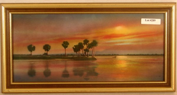289: Barnhill - Florida Hand Colored Photo