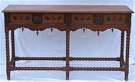 700: Wallace Nutting Furniture - #912 Oak Sideboard