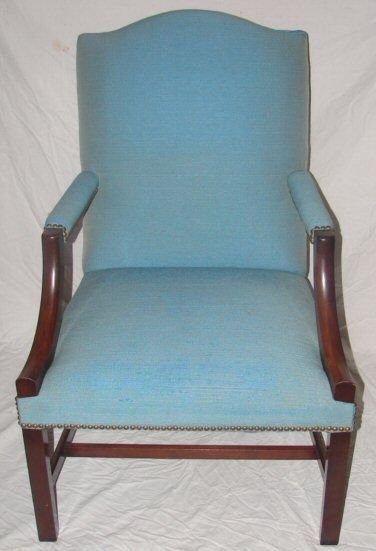 560A: Wallace Nutting Furniture - Mahogany Arm Chair