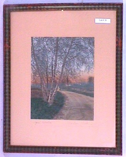 18: Wallace Nutting - April Birches