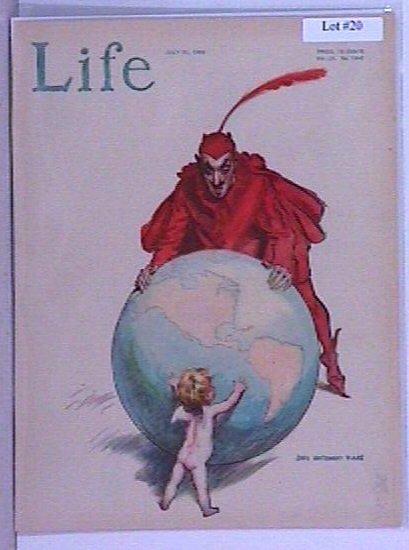 20: James Montgomery Flagg - Life Magazine Cover