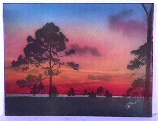 23: E.G. Barnhill - Florida Hand-Colored Photo