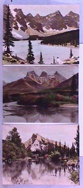 24: Byron Harmon - 3 Hand-Colored Photogravures