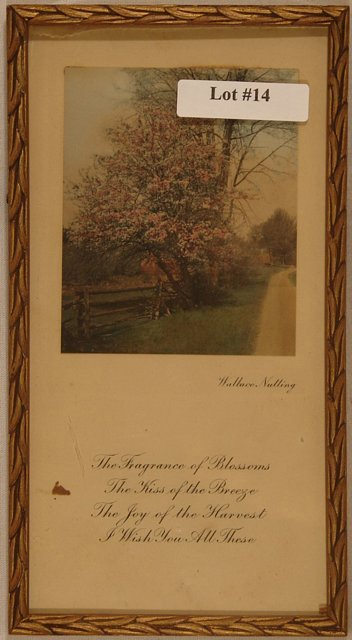 14: Wallace Nutting - Framed Greeting Card