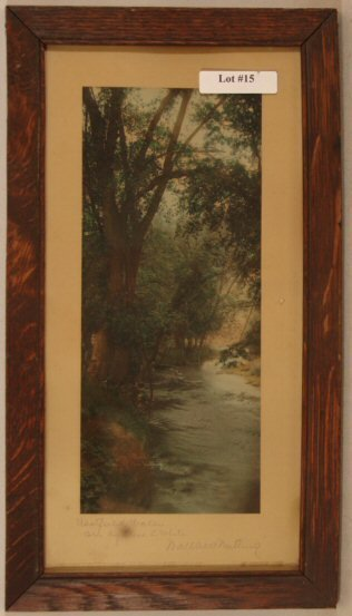 15: Wallace Nutting - Westfield Water - Colorist Signed