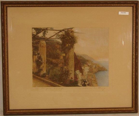 16: Wallace Nutting - The Pergola Amalfi
