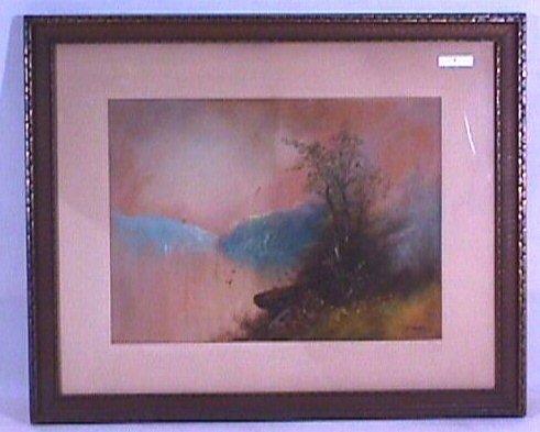 4: William Henry Chandler - Landscape Pastel