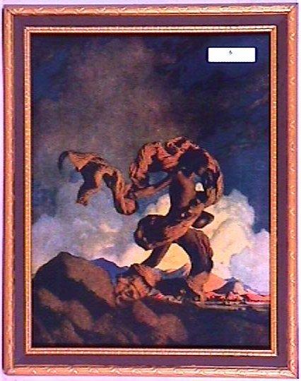 6: Maxfield Parrish - Cadmus Sowing Dragon's Teeth