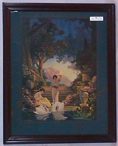8: R Atkinson Fox Type Enchanted Garden Print