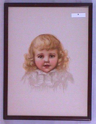 9: Ida Waugh - Young Child Print