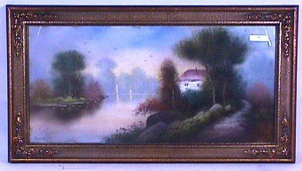 10: William H Chandler - Landscape Pastel