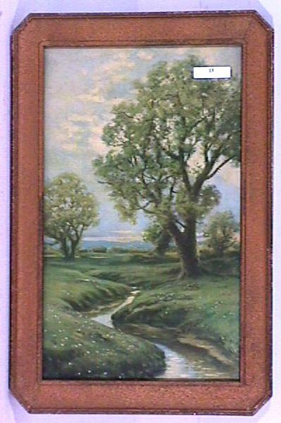 13: R Atkinson Fox - Untitled Landscape