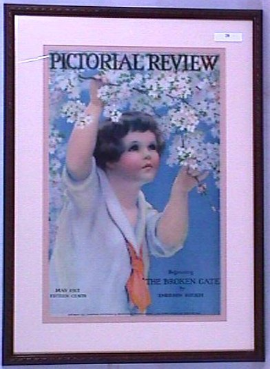 20: Bessie P Gutmann - May 1917 Pictorial Review Cover