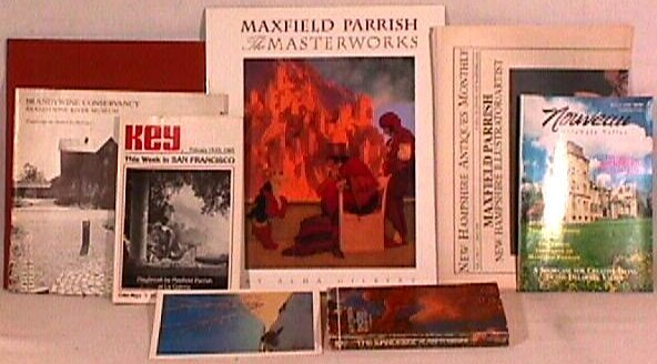 23: Maxfield Parrish - Lot of Reference Material