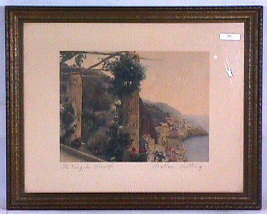 512: Wallace Nutting - The Pergola, Amalfi