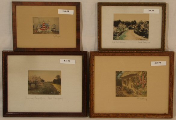 4: Lot of 4 Fred Thompson & Wallace Nuttings