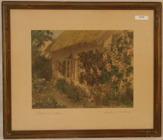 5: Wallace Nutting - Hollyhock Cottage