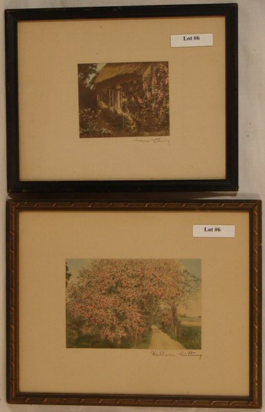 6: Wallace Nutting - Two Untitled Scenes