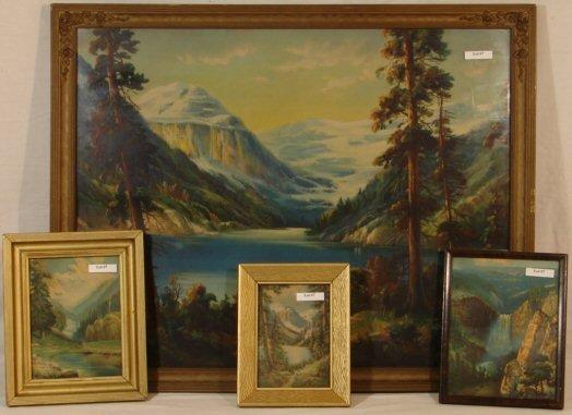 7: William Thompson - Lot of 4 Prints