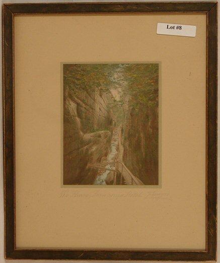 8: Charles Sawyer - The Flume, Franconia Notch