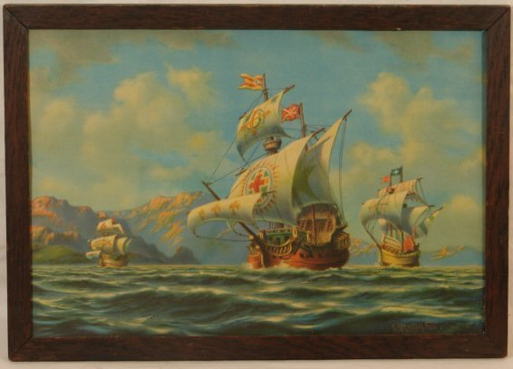 9: R Atkinson Fox - The Treasure Fleet