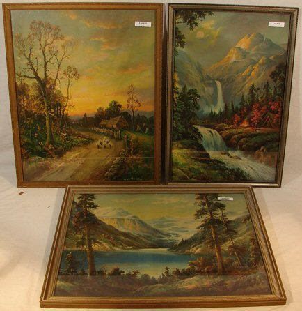 19: William M Thompson - Lot of Three Prints