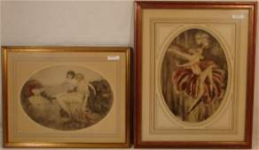 71: Lot of two Bernart Corp Icart-style Lithographs