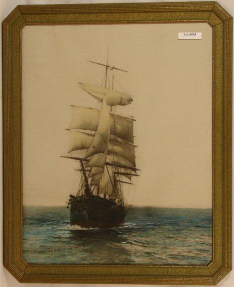 305: Fred Thompson - Sailing Schooner Scene