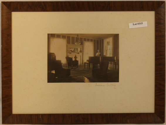 315: Wallace Nutting - Untitled Vilas House Parlor