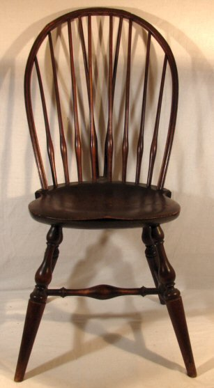 320: Wallace Nutting - #301 Windsor Bow Back Chair