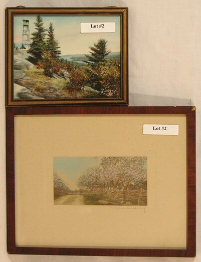 2: Nutting & Sawyer - Two Picture Lot